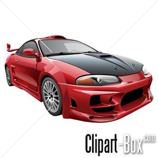 CLIPART CUSTOM CAR.