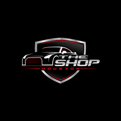 Custom Car Shop Logo.