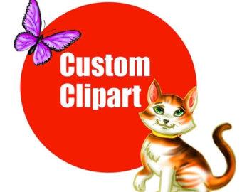 Custom clipart.