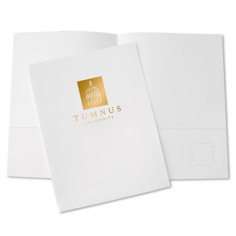 Custom School Folders imprinted with your logo! Great for.