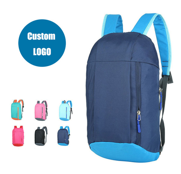 2019 Advertising Gift Bag Customized Outdoor Sports Backpack Men\'S And  Women\'S Backpacks Students\' Backpacks Customized Logo Wholesale From.