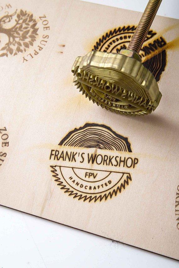 Custom Wood Branding Iron/Leather branding iron / Custom.