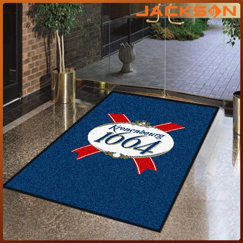[Hot Item] Custom Made Nylon Printed Company Outdoor Logo Carpet.
