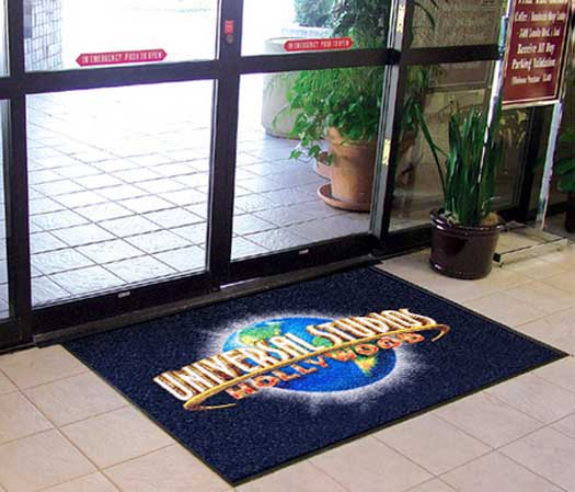 Carpet Logo Mat with Custom Logo, 2.5\'x3\'.