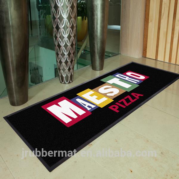 Branded Custom Printed Welcome Carpet Logo Door Mat Outdoor Floor Mat.