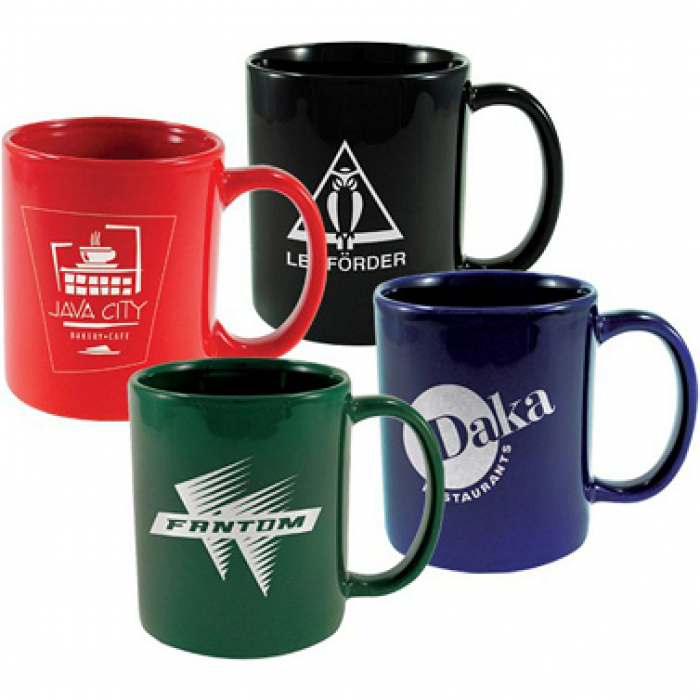 Custom Logo Coffee Mugs.