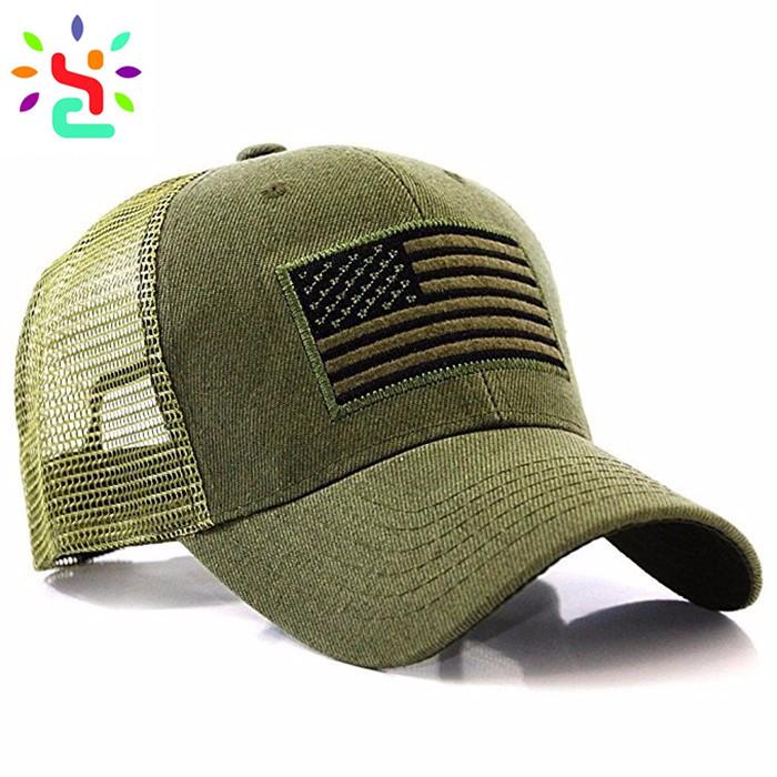 Navy Blue Trucker Hat Custom Logo Hats National Flag Trucker Cap 6 Panel  Mesh Baseball Cap Embroidery Patch Trucker Hat.