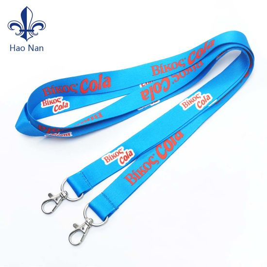 Neck Ribbon Promotional Gift Medal Strap Lanyards with Custom Logo.