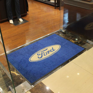 China Custom Funky Door Mats Carpet Rugs for Advertising.