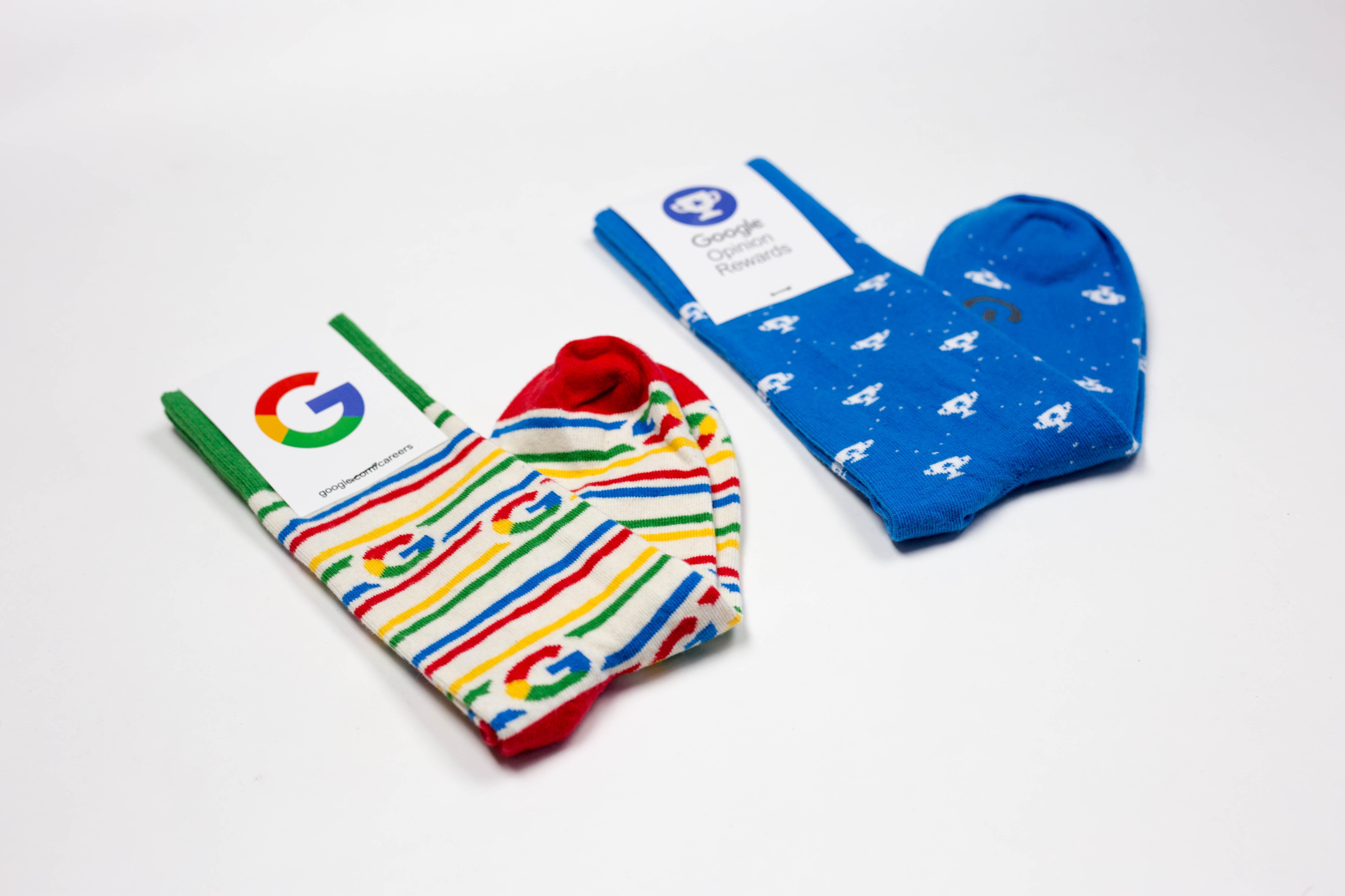 Custom Logo Socks.