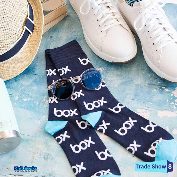 Custom Socks. Get Your Logo On It! Trade Show 8. Swag with.