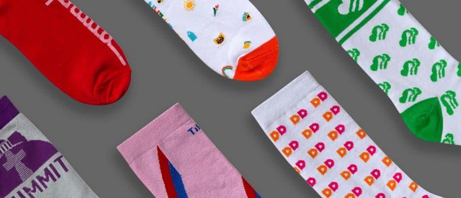 Making Custom Logo Socks for Your Business.