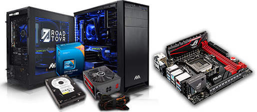 Let's get building with our Custom PC Service.