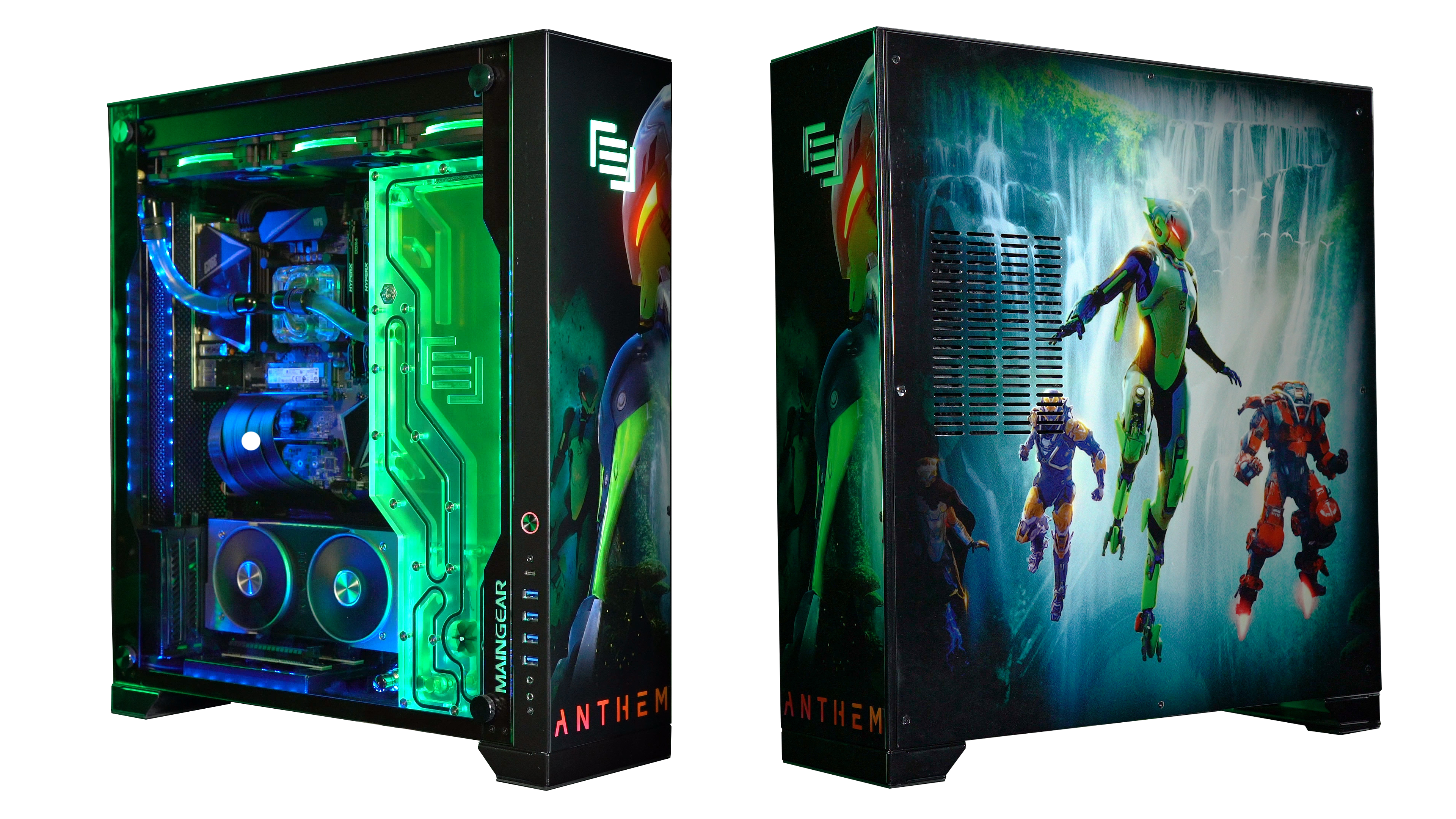 LVLUP your squad with a chance to win a custom Anthem PC powered by.