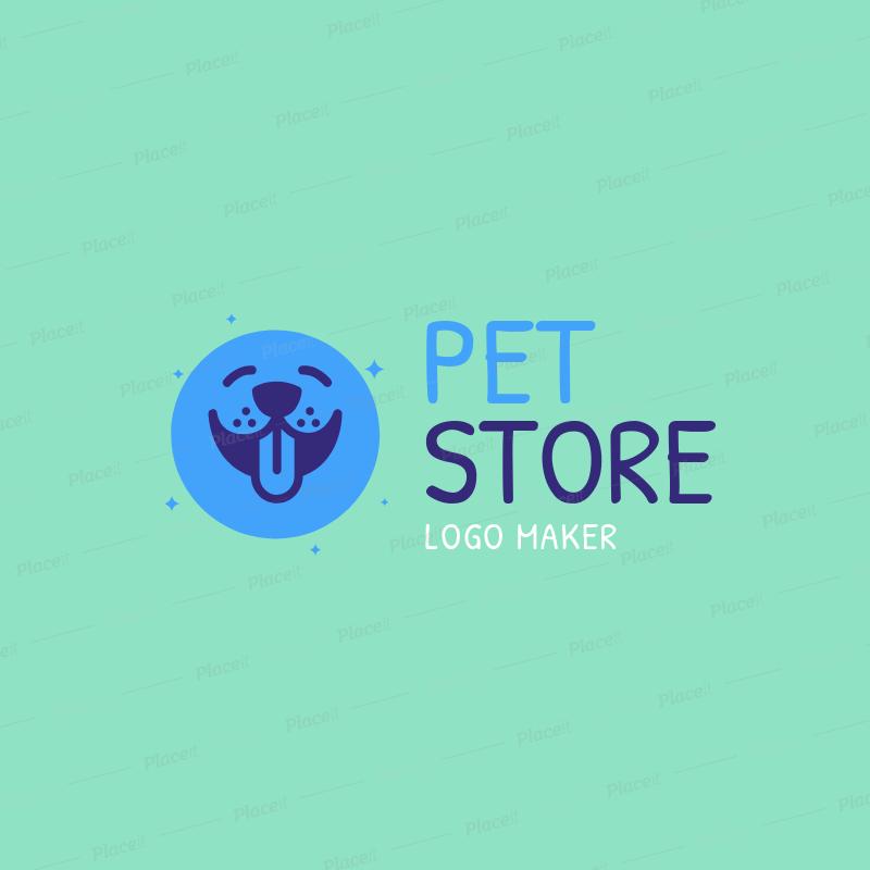 Custom Logo Maker for Pet Shops 1147c.