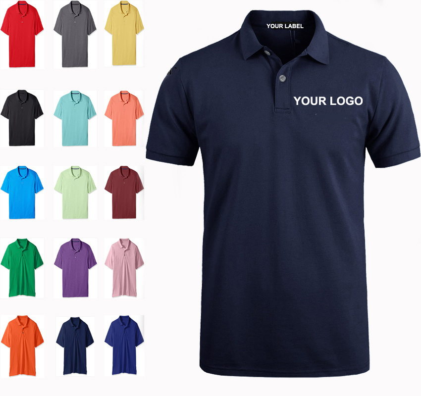 [Hot Item] Custom Sublimation Short Sleeve Dry Fit Polo Shirts, Printing  Embroidery Plain Blank Golf Mens Cotton Polo Shirt with Private Label.