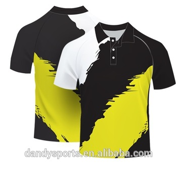 2016 Latest Customized Polo Shirts/cricket Polo T.