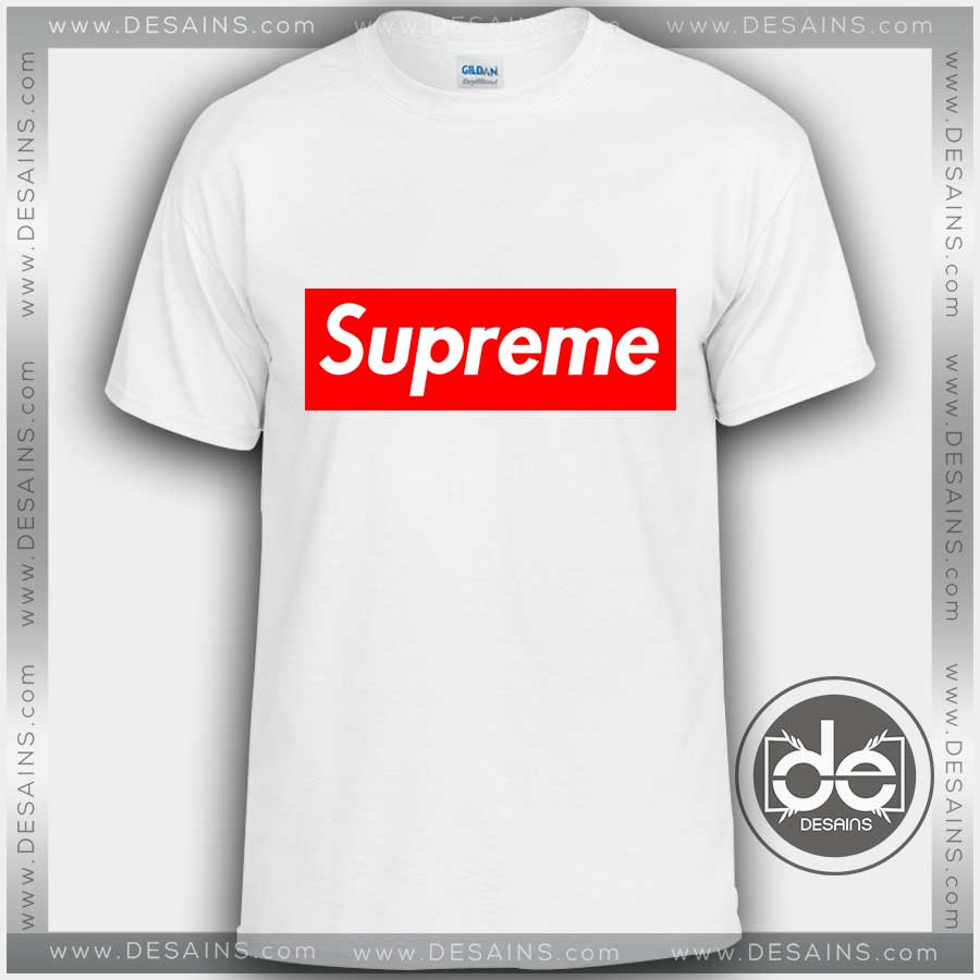 Buy Custom Tshirt Supreme Logo Tshirt Mens and Womens.