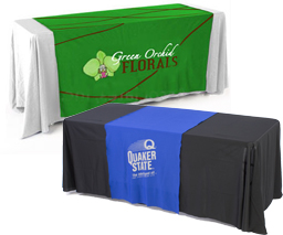 Custom Printed Tablecloths.