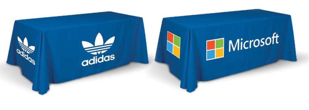 Full Color Table Cover Printing.