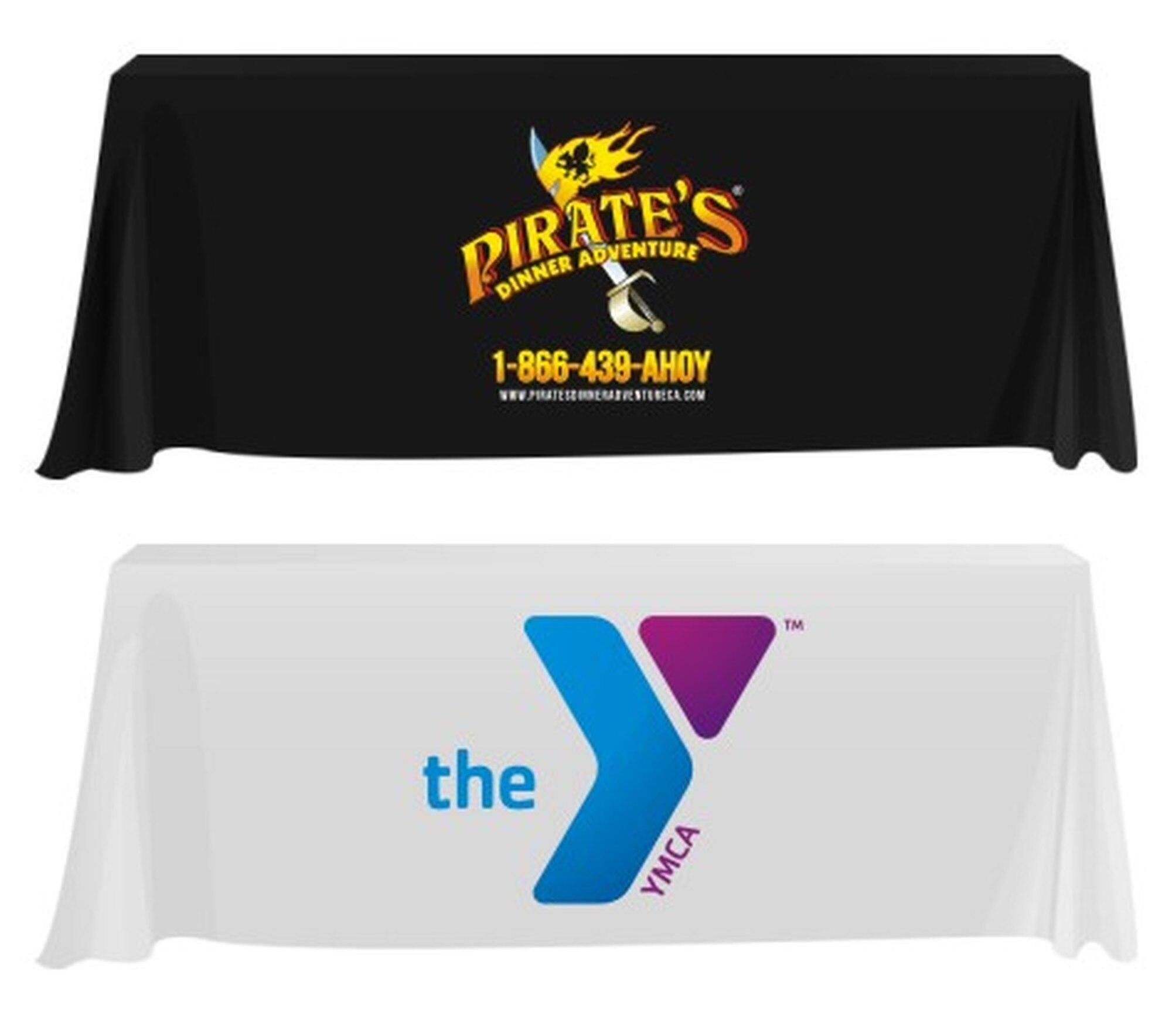 Custom Logo Table Covers.