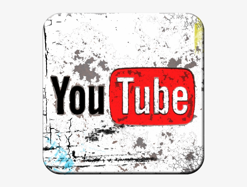 Youtube Custom Logo Transparent PNG.