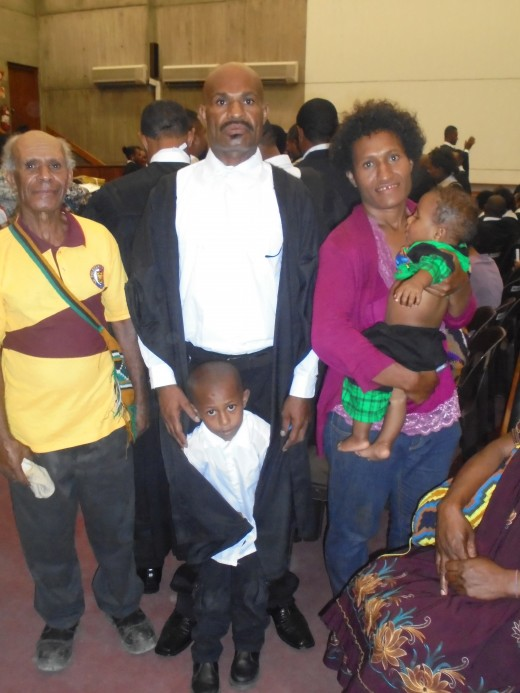 Formation and Dissolution of Customary Marriage in Papua New Guinea.