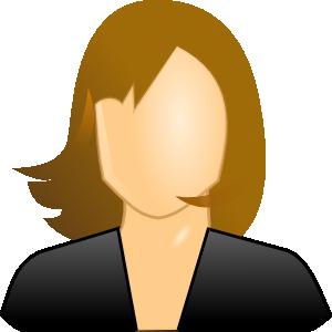 Female User Icon Clip Art at Clker.com.