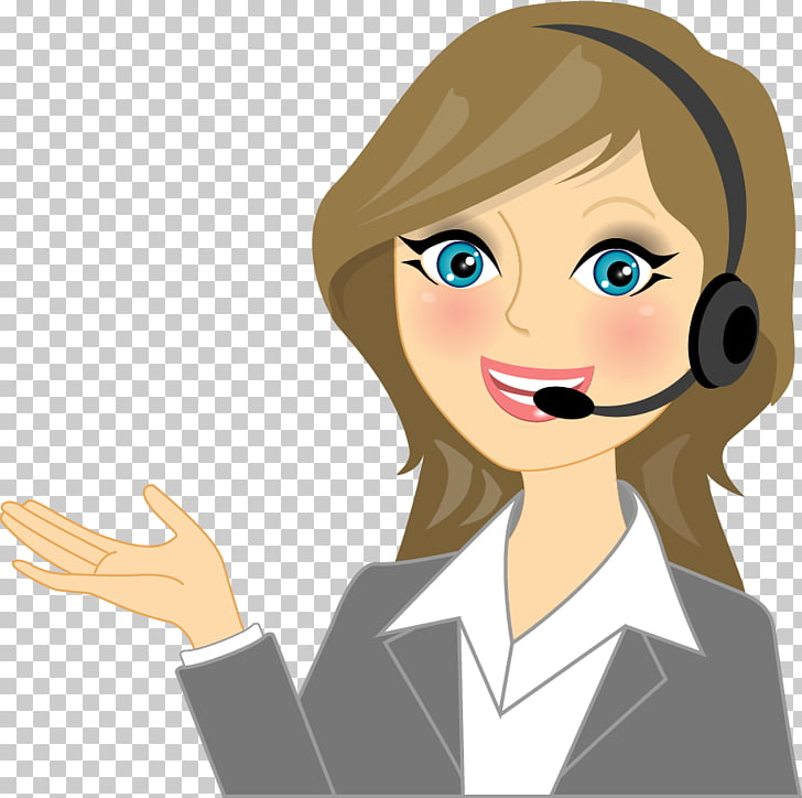 Call Centre Cartoon Customer Service Stock photography.