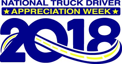 National Truck Driver Appreciation Week: 2018.