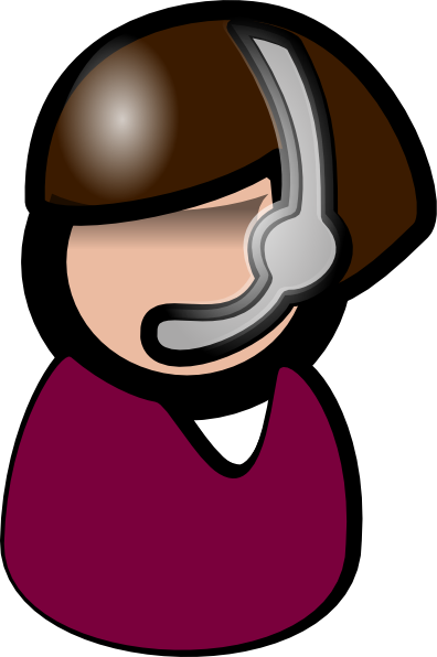 Customer service clipart #9
