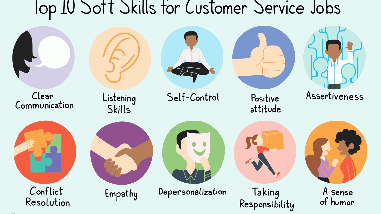 Top 10 Soft Skills for Customer Service Jobs.