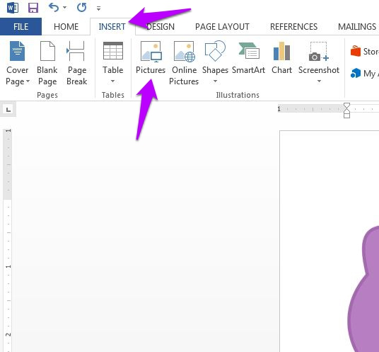 Customize Images and Clipart in Microsoft Word 2013.