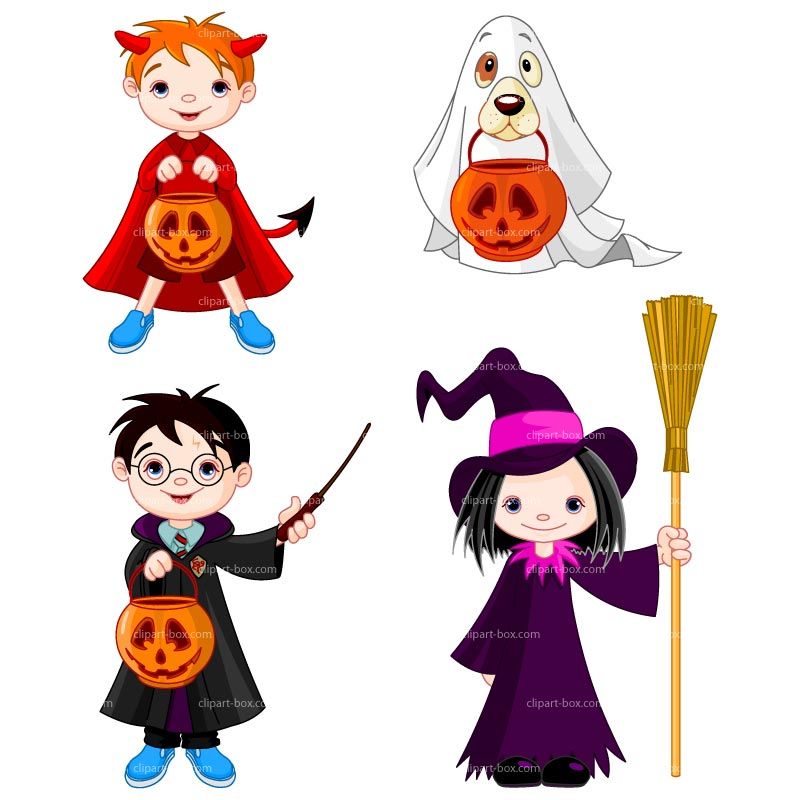 Halloween Costume Contest Clipart.