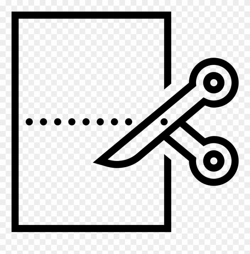 Cut Paper Icon.