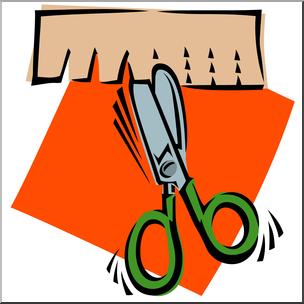 Clip Art: Scissors: Cutting Snip Color I abcteach.com.