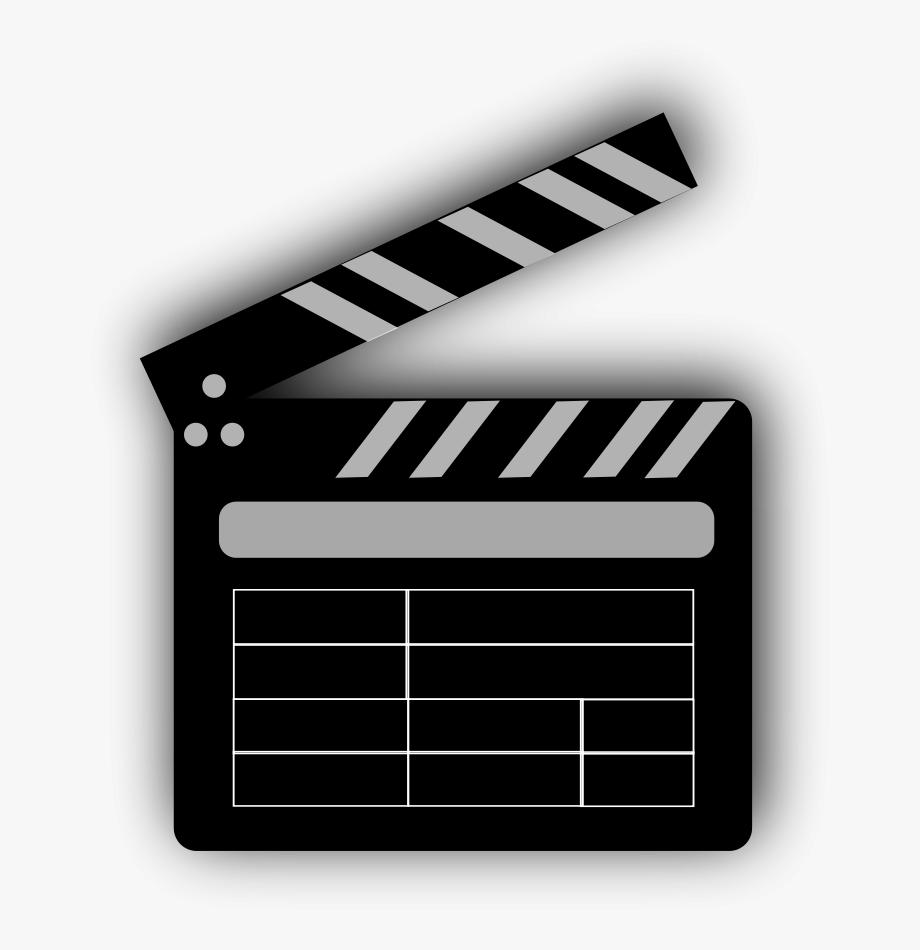 Movie Clapperboard Clipart, Vector Clip Art Online,.