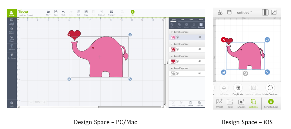 How do I use the Contour function in Design Space?.