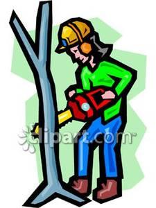 Cut Trees Down Clip Art.