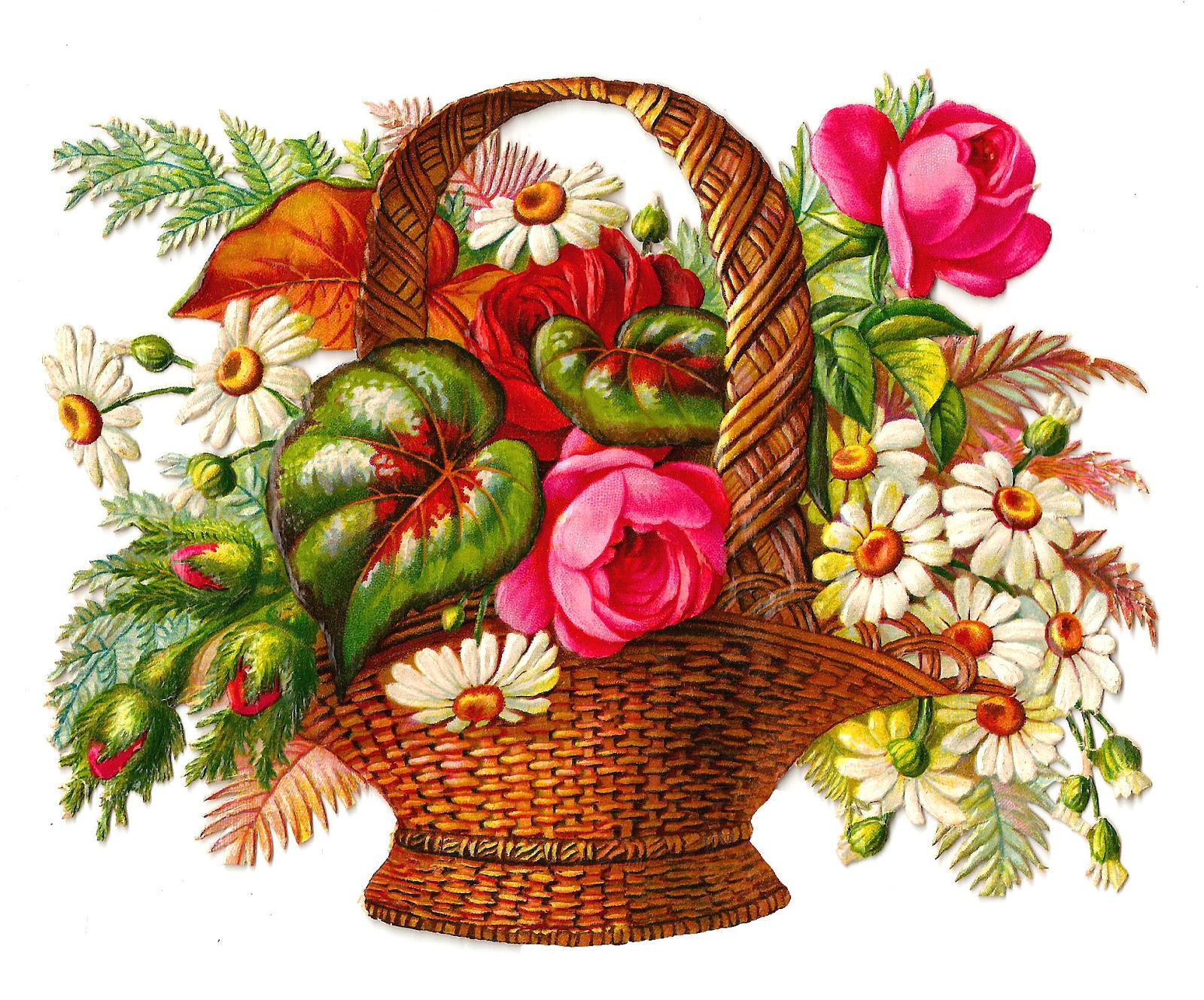 Free Images of Flower Bouquets.