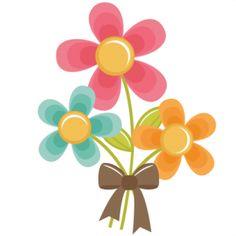 Cute flower clipart free.