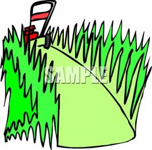 grass cutting clip art