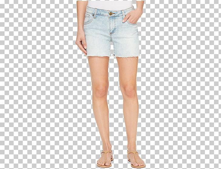 Denim Jeans Shorts Bleach Cut.
