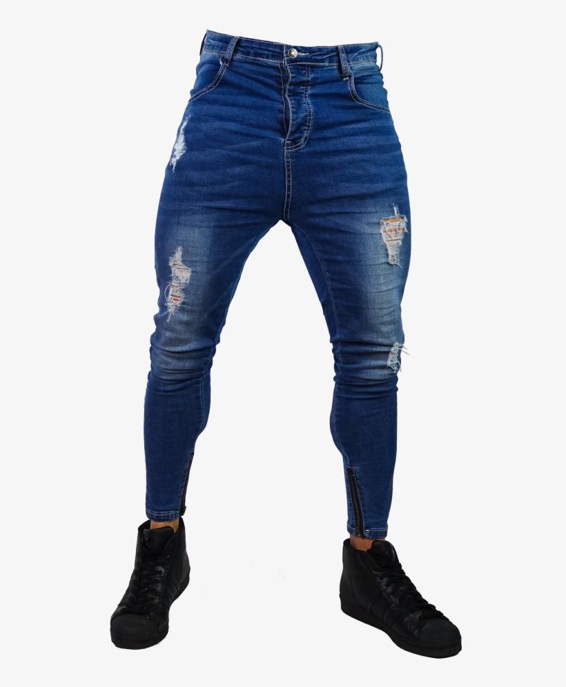 Close Cut Jeans.