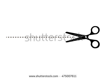 PNG Scissors Cutting Dotted Line Transparent Scissors Cutting Dotted.