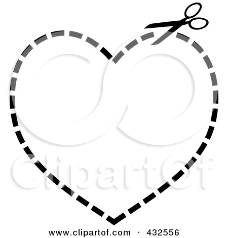 Clipart Black And White Cut Here Coupon Cutting Guides And.