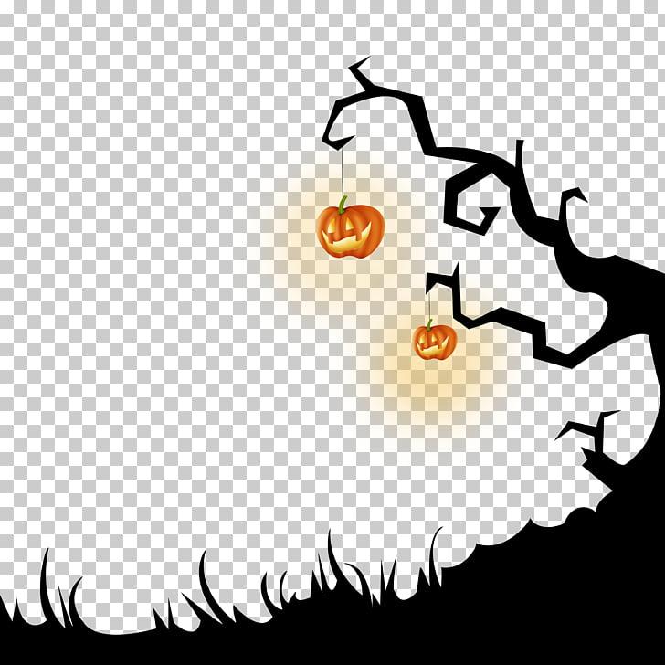 Halloween October 31 , Dead tree Halloween Cutout Free HD.
