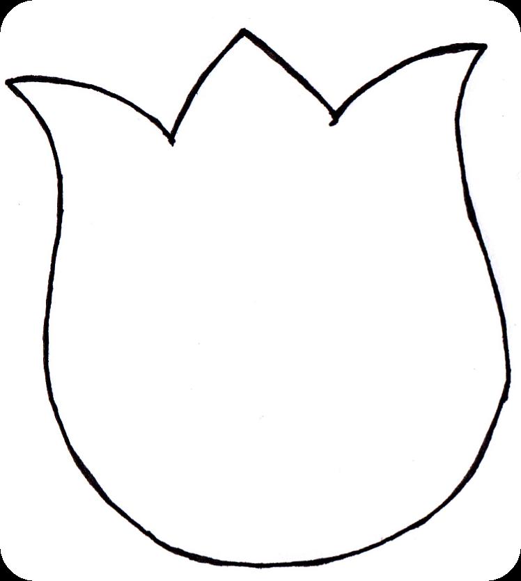 Flower Pattern To Cut.