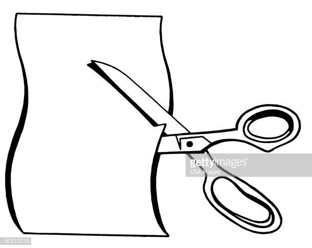 60 Top Cutting Paper Stock Illustrations, Clip art, Cartoons and.