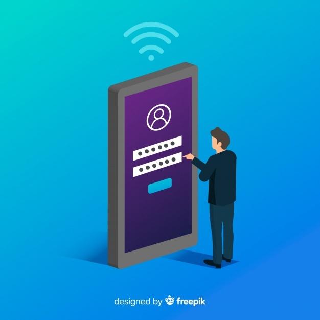 Free Online registration concept background SVG DXF EPS PNG.